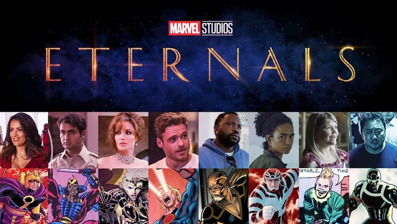 Marvel's Eternals Cast