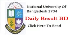 NU Honours 4th Year Result Rescrutiny Application Notice 2019