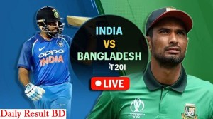 Bangladesh vs India streaming T20I Live Score Updates