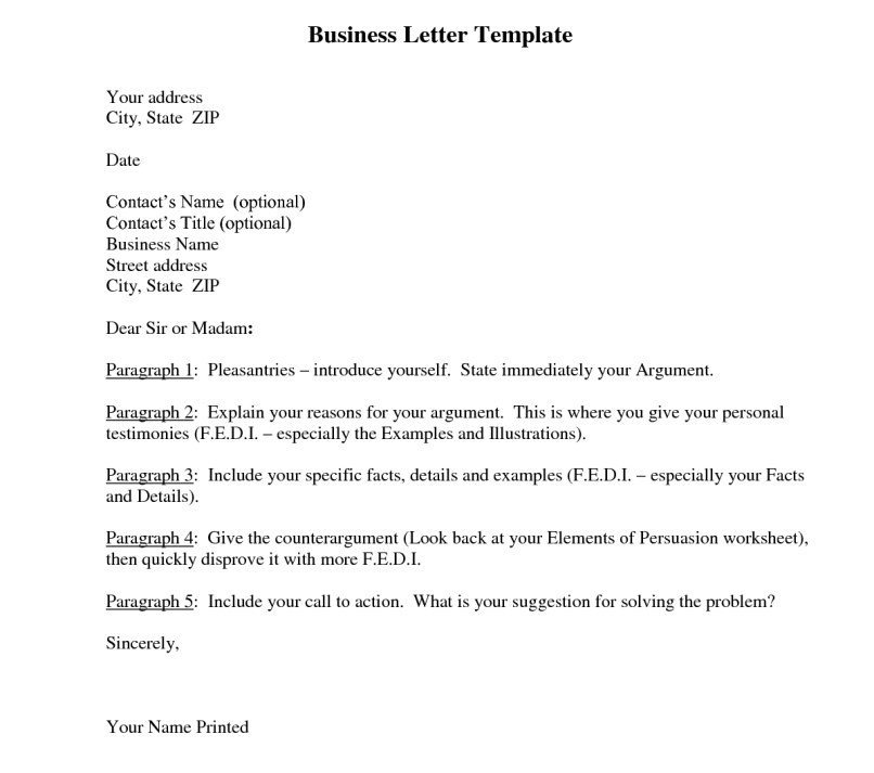 Persuasive business letter sample pdf inviview 7 formats of business letter template word pdf wajeb Gallery