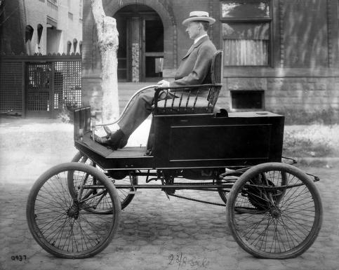Henry Coffin Steam Car