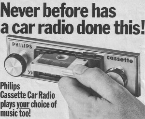 vintage car stereo