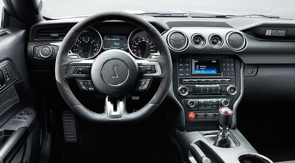 2017 Shelby GT350 Interior