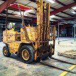 The Patina Caterpillar Forklift