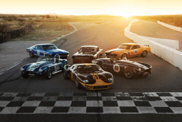 Iconic Ford Performance Cars Offered in Monterey