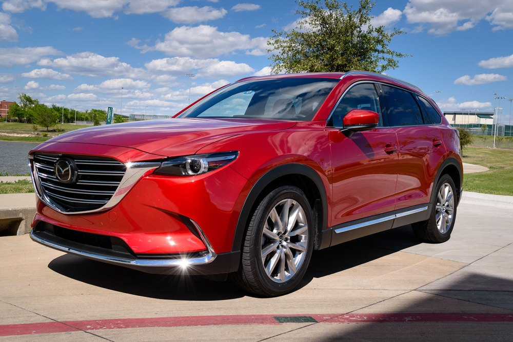 2017 Mazda CX-9 Soul Red Metallic
