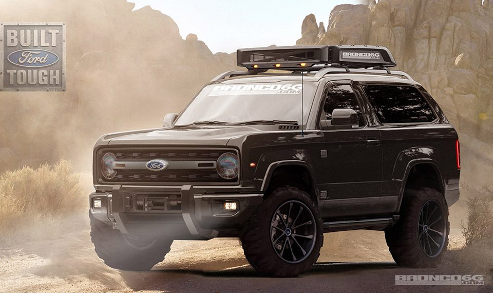 The Legendary Ford Bronco - SUV Returning in 2020 - Daily Rubber