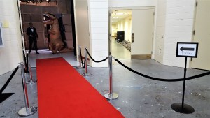 The Regent Rex on the red carpet, Virginia Beach, Va., Apr. 2017. (Sara Waits)