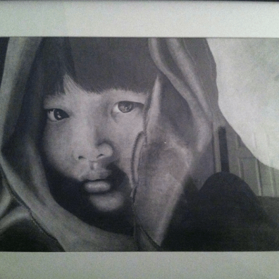 Another monochrome pencil drawing by Walker, Feb. 2018. (Noah Walker)