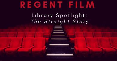 Regent Film Library Spotlight: The Straight Story