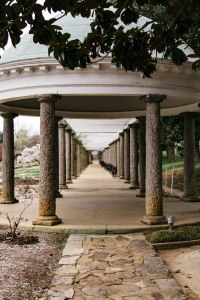 Column trellis at Maymont, Richmond, V.A., Feb. 2018. (Allison Rebekah)