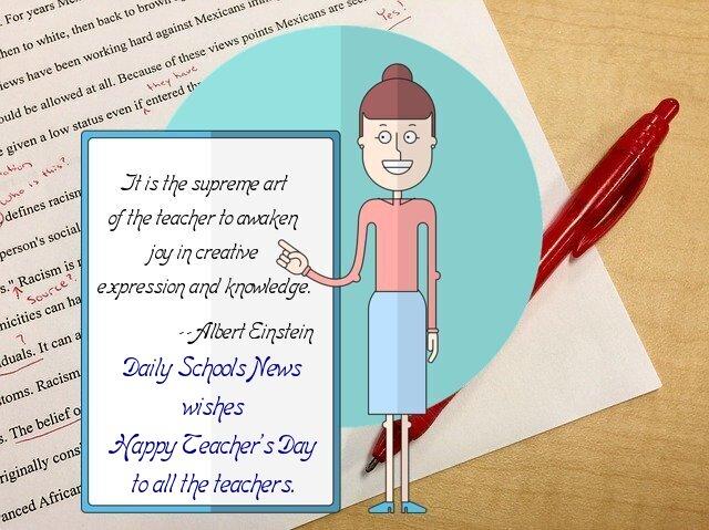 gratitude to our teachers