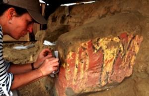 ULB Découverte d'un temple à Pachacamac, Pérou