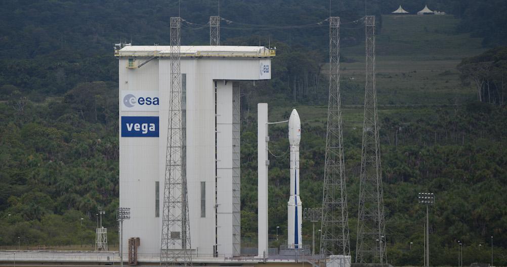 Parmi les succès de la Belgique spatiale, on retrouve sa participation aux lanceurs Ariane 5 et, ici, Vega. © ESA