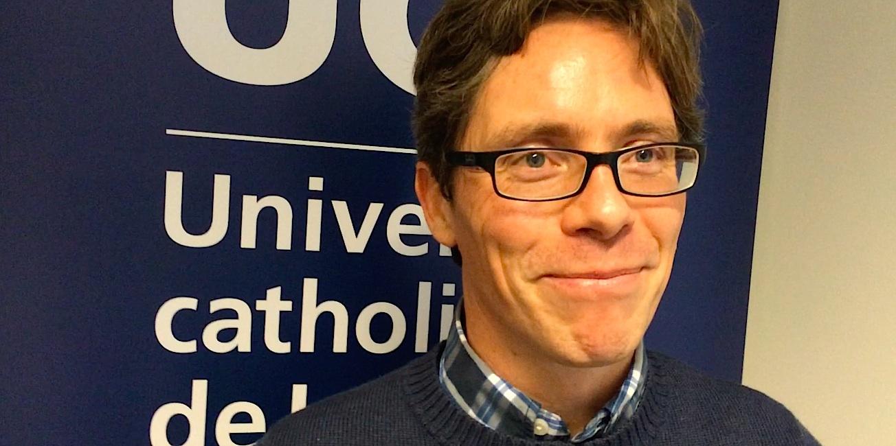 Le Pr Jean-François Collet, Institut de Duve (UCL).