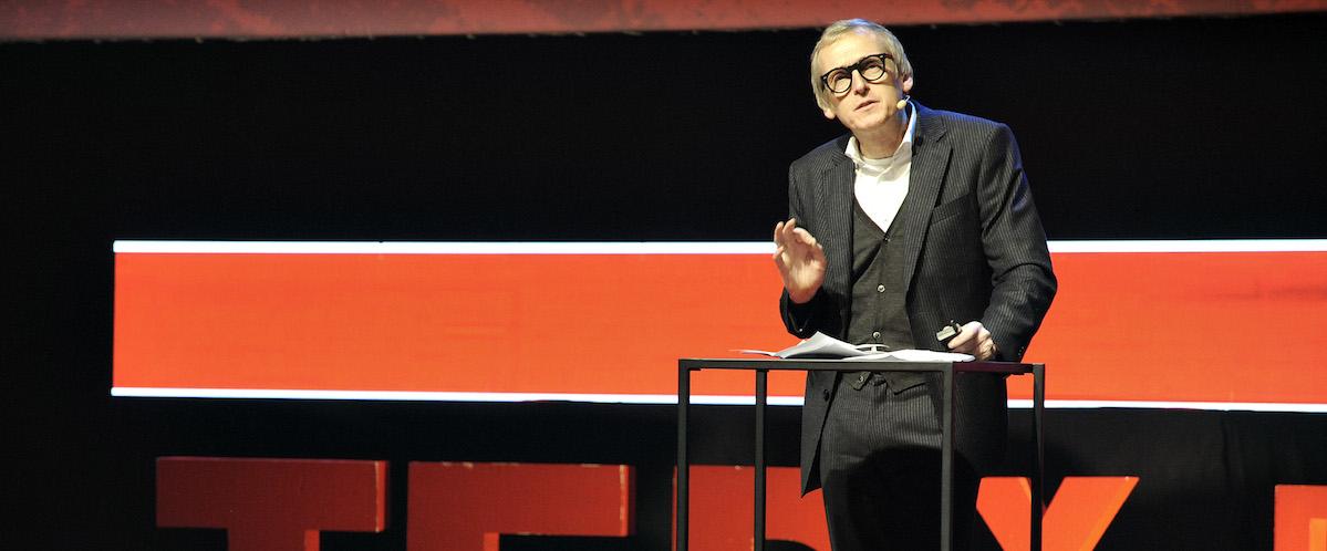 Paul Dujardin, directeur du Palais des Beaux-Arts de Bruxelles. © TEDx Brussels / Scorpix