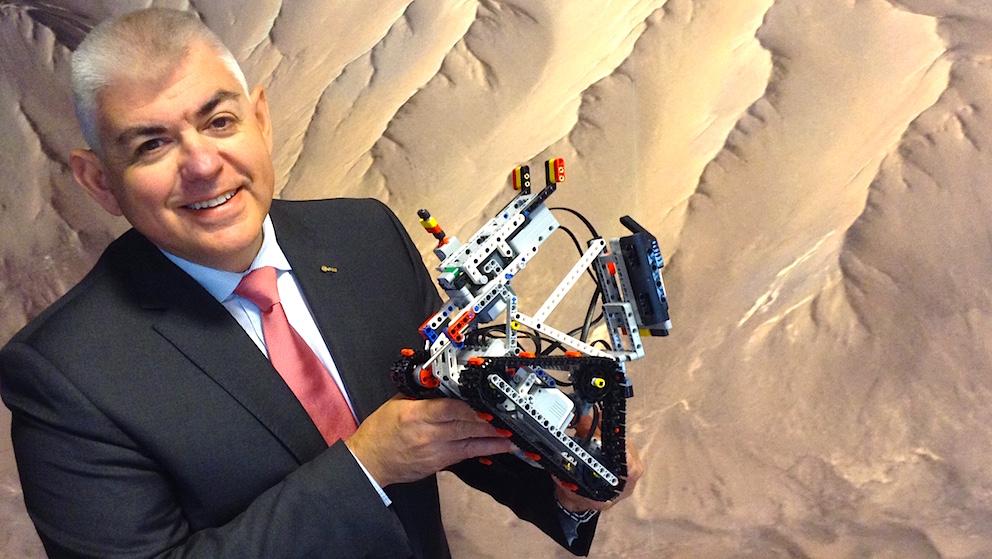 Hugo Marée, responsable du Bureau de l'Education et de la gestion des connaissances de l'ESA.
