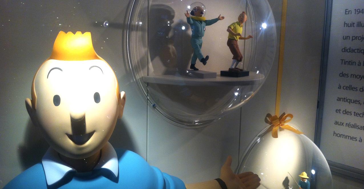 A Paris, le Pr Eric Caumes, s'est penché sur les problèmes de santé de Tintin et du Capitaine Haddock.
