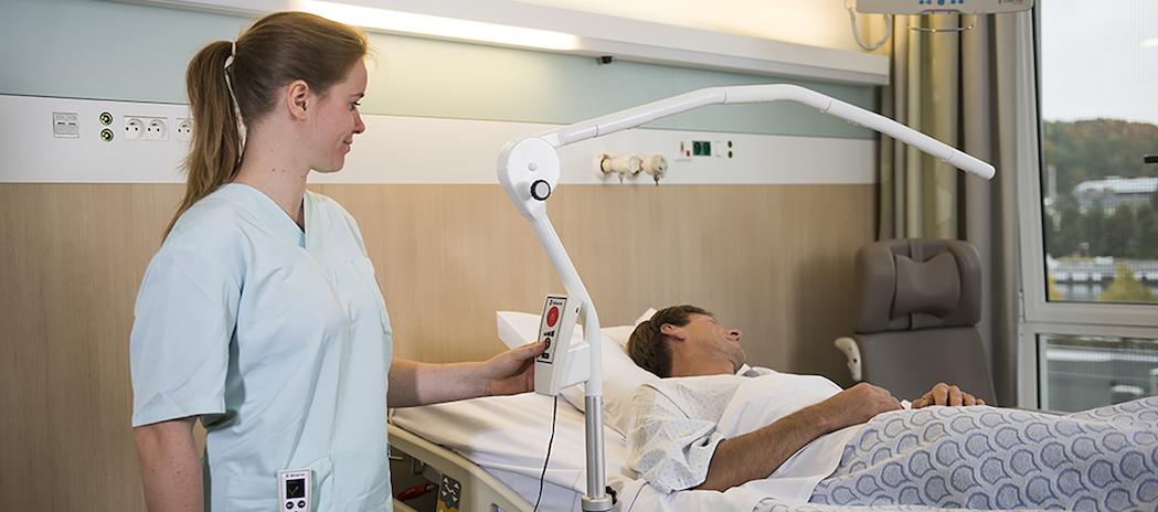 Le système d'observation du patient proposé par la start-up 2 Observe a été testé à Namur. © 2-Observe
