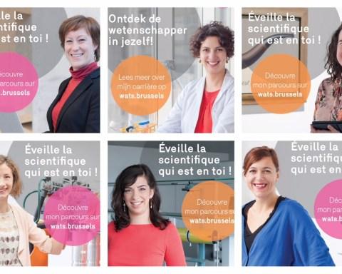 Femmes et scientifiques? La Région de Bruxelles-Capitale mène actuellement une vaste campagne en ce sens. A découvrir sur Wats.brussels.