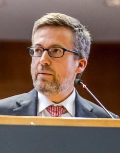 Carlos Moedas, Commissaire européen en charge de la Science, de le recherche et de l'Innovation. © ULB