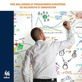"""La brochure """"PME wallonnes et programmes européens de recherche et innovation"""", est disponible sur le site du SPW Recherche."""
