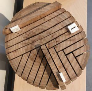 De bout, sur quartier, sur dosse... Il existe plusieurs façons de débiter le bois.