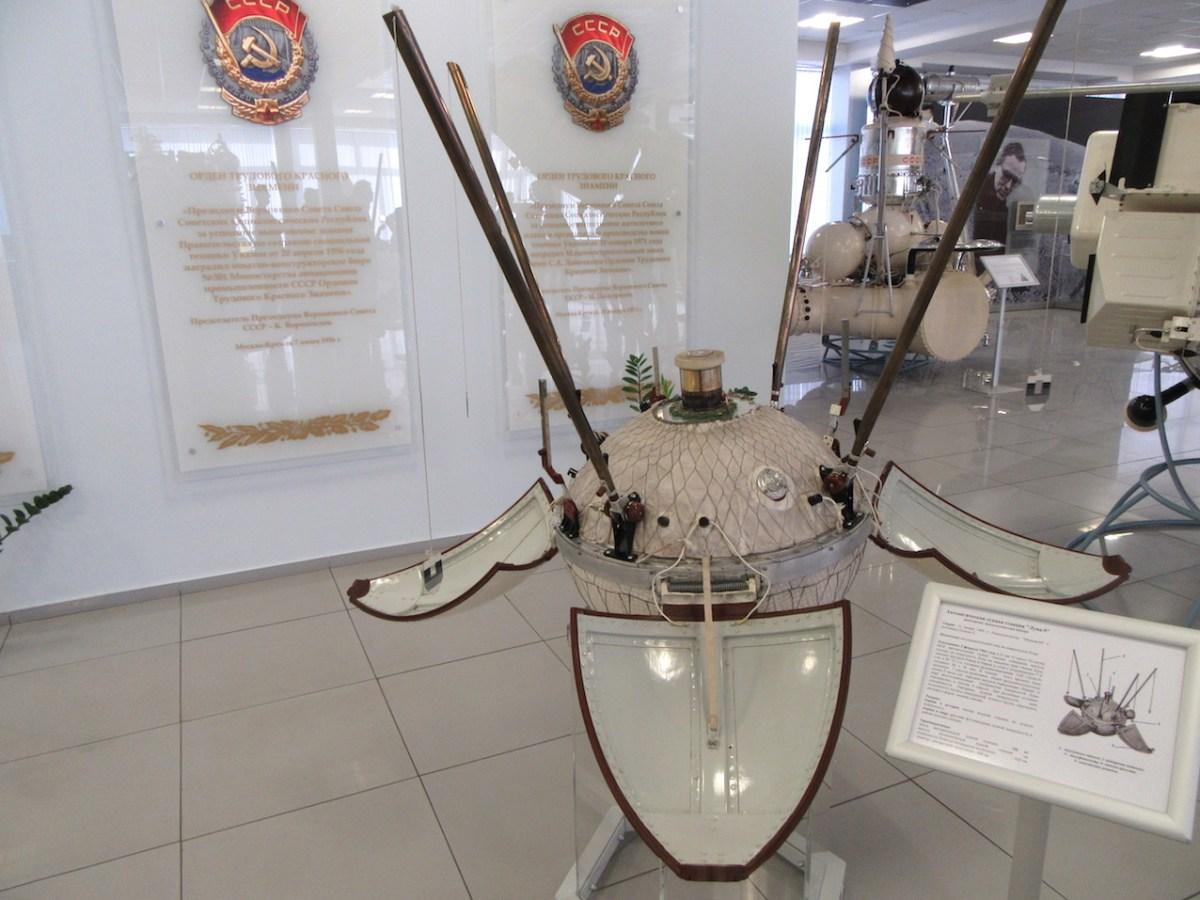 Sonde Luna 9, Musée Lavotchkine, Moscou/Khimki. © CDB