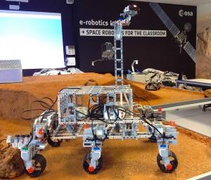 """Nouveau """"e-robotics lab"""" de l'ESA, à Redu."""