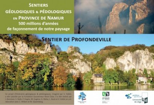 """""""Sentier de Profondeville"""", Presses Universitaires de Namur. 36 pages, 13 euros."""