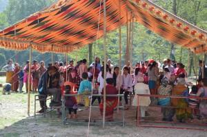 Camp de contrôle dentaire, Népal