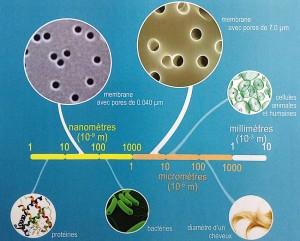 Echelle nanométrique.(cliquer pour agrandir)