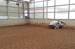 Serre de séchage des boues, L'Oréal - Libramont