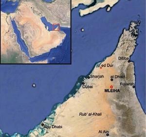 MLEIHA localisation