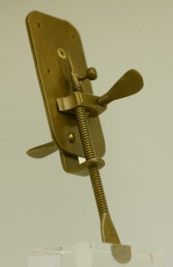 Microscope de Leeuwenhoeck (reproduction)