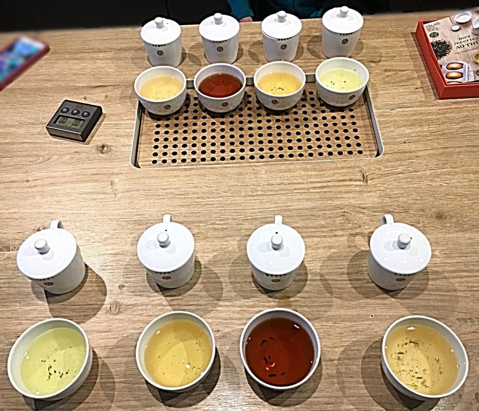 Tea Tasting Workshop: Palais de Thes Tea in Soho