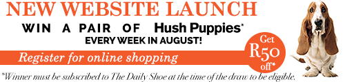 Hush Puppies - New Website Launched!