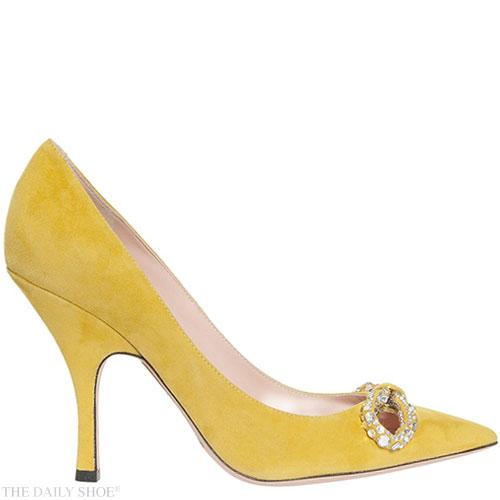 ROCHAS Crystal Bow Heels