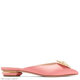 NICHOLAS KIRKWOOD Eden crystal-embellished satin backless loafers
