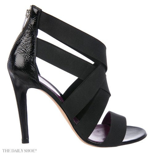 SERGIO ROSSI Elastic Caged Sandals