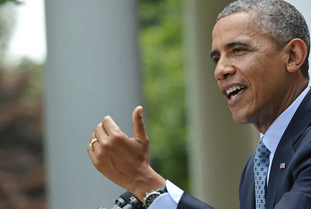 President Obama claimed that federal prosecutors would have to 'let criminals go.' (Photo: Mandel Ngan/Newscom)