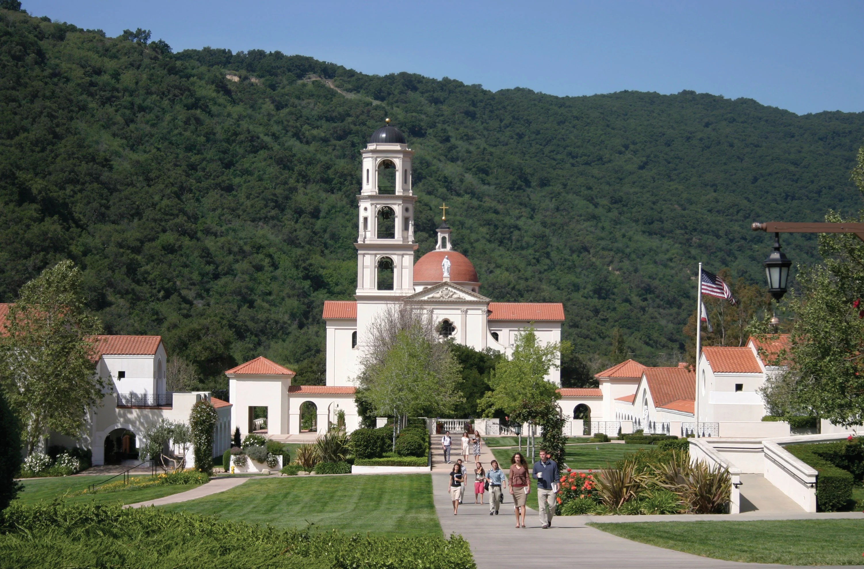 Thomas Aquinas College, located about an hour's drive north of Los Angeles in Santa Paula, California. (Photo: Courtesy of Thomas Aquinas College)