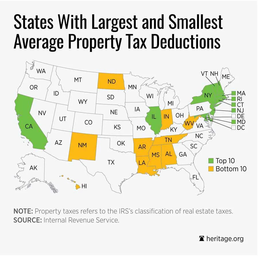 This Tax Deduction Forces Americans to Subsidize High-Tax States