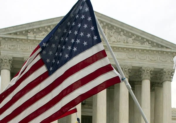 Image result for american flag supreme court