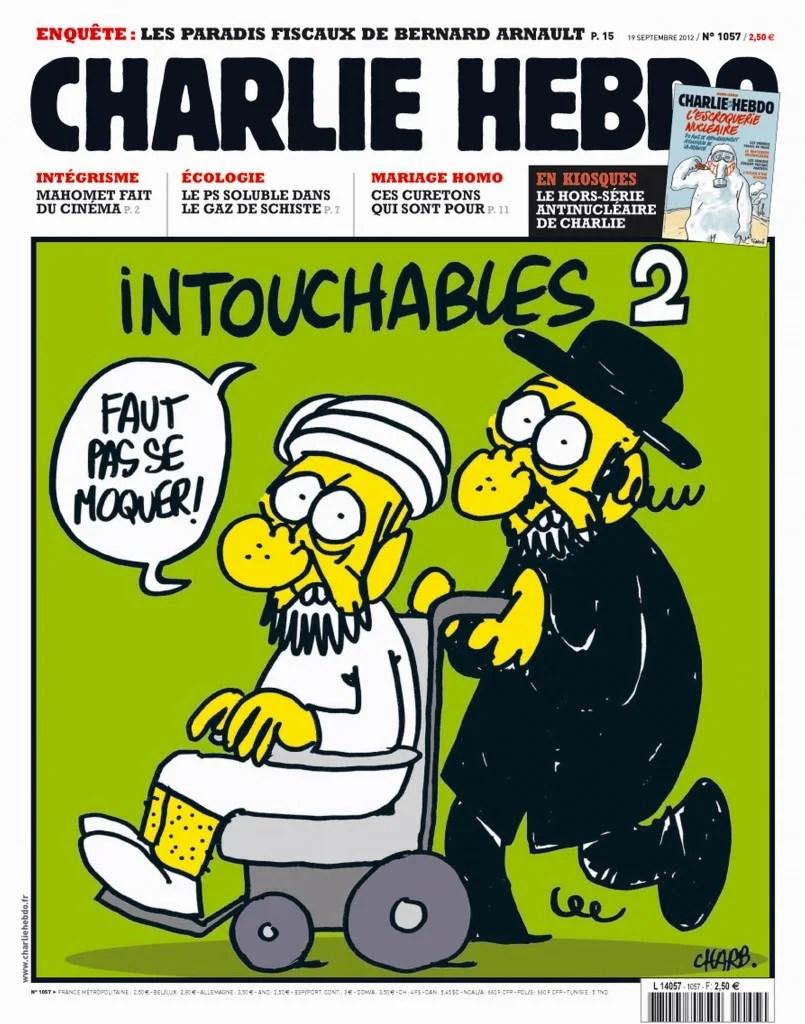 Murder attack at the magazine Chalrie Hebdo