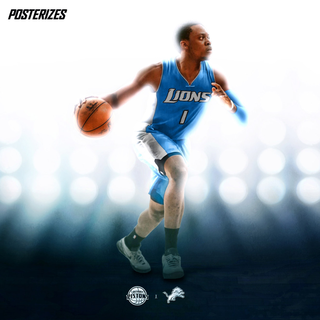 Designers Create Awesome NBA Player X NFL Team Mashup