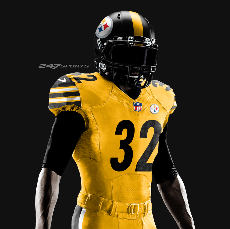 Designer Mocks Up What Color Rush Uniforms Will Look