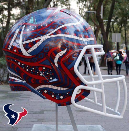 Mexican Artists HandPaint Reimagined Helmet Designs For