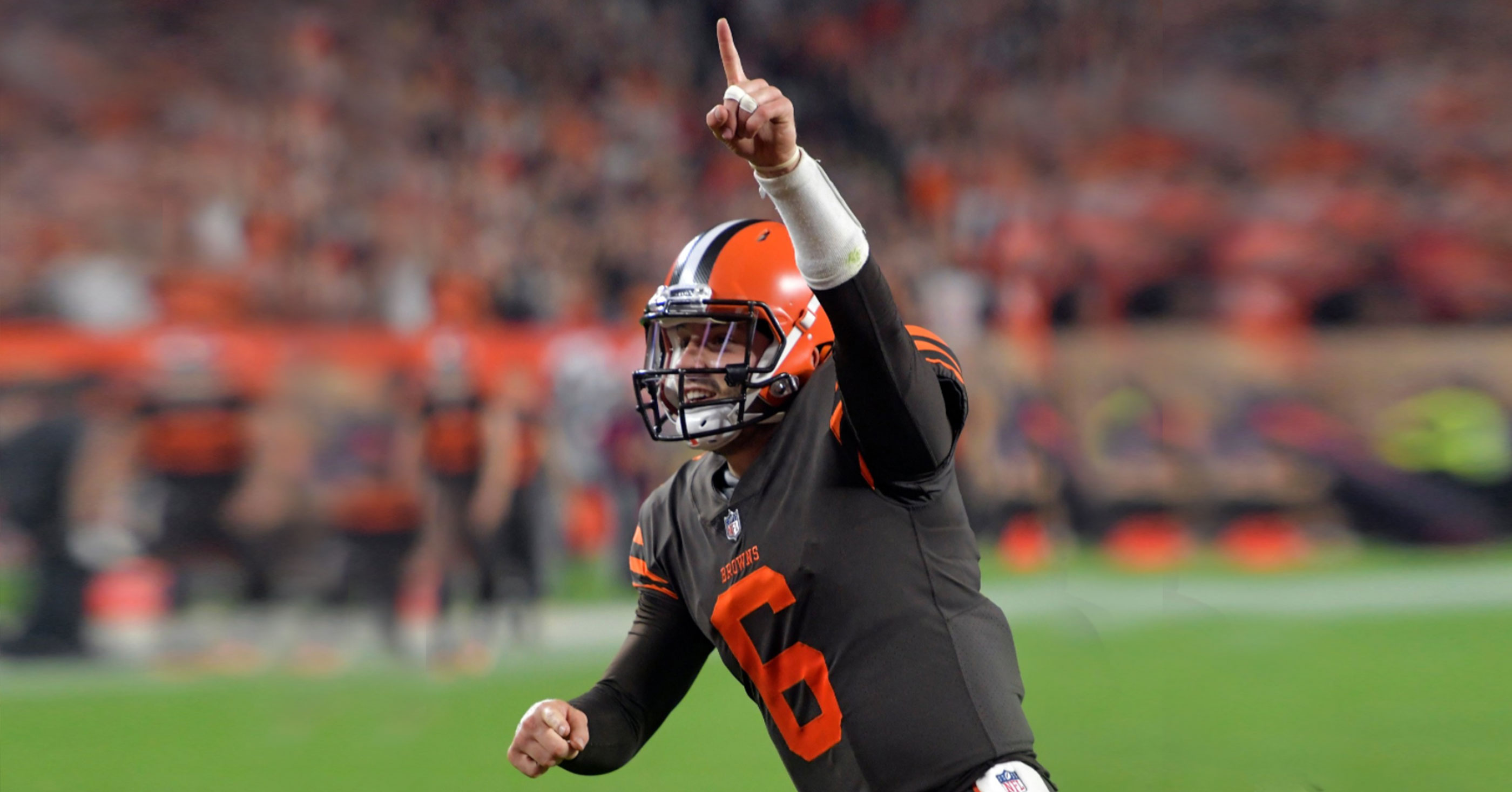 The Cleveland Browns Have Just Won Their First Football