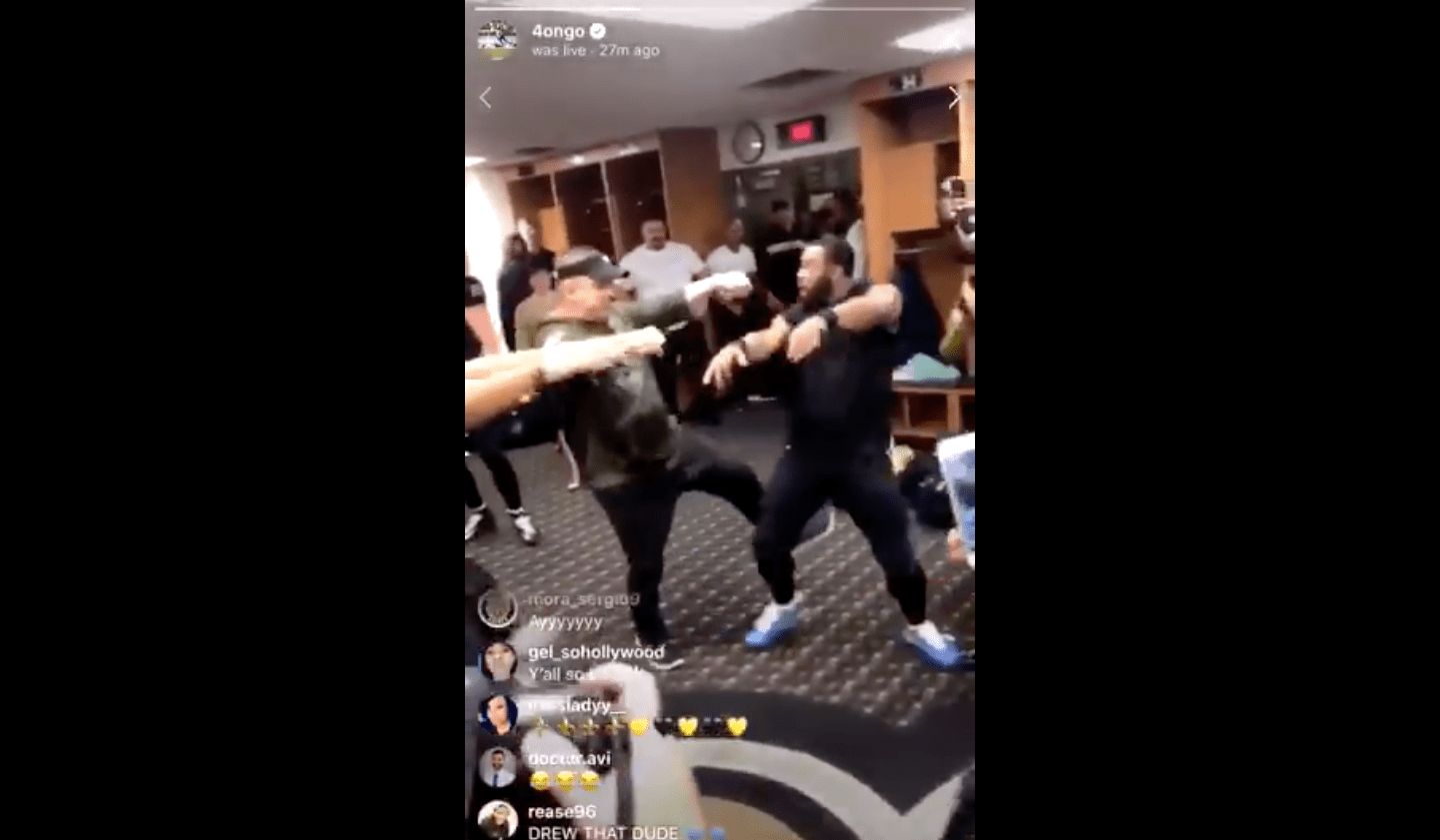 Saints Had A Full Blown Dance Party In The Locker Room After Win vs Steelers  Daily Snark